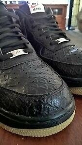 MUST GO! Black Snake Skin Air Force 1 Size US12 Alexander Heights Wanneroo Area Preview