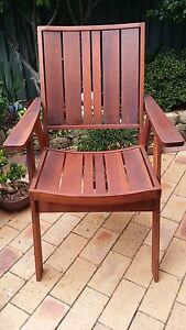 6 deck chairs perfect condition $300 Ingleburn Campbelltown Area Preview