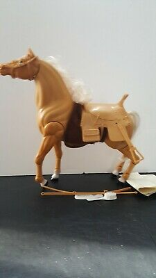 Vintage 1983 Sears Toy Lindsey's Show Horse Brandy in Box with Accessories