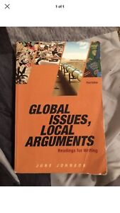Global issues local arguments textbook