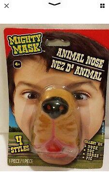 Dog Nose Mask (New Dog Nose Soft Rubber Animal Mighty Mask Child Costume)