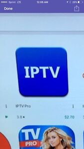 Iptv service for 12 months subscription