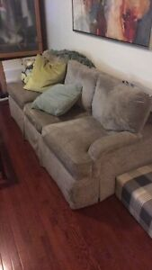 Two large sofas for sale