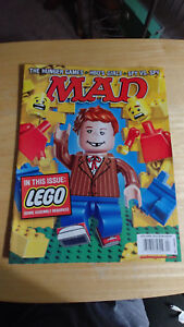 MAD Magazine # 526 Lego Hunger Games HBO Girls April 2014 - Unread