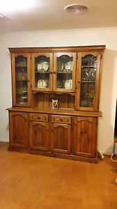Solid timber display cabinet Kitchen dresser Mount Barker Mount Barker Area Preview