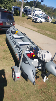 Inflatable boat for expeditions.  Car topper , tender, fishing
