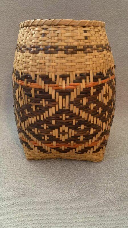 Cherokee River Cane Basket c. 1960