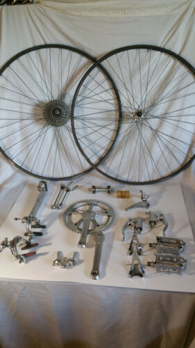 Galli groupset groupo, nearly complete - Italian vintage, Campagnolo competitor