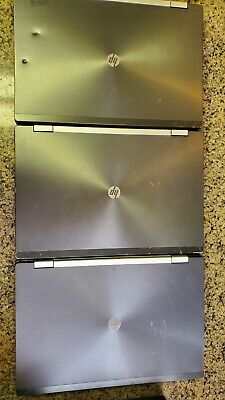 """LOT OF 3 HP Elitebook 8570w 15"""" Intel i7 3rd 8GB RAM 128GB MSata Scratch & Dent"""
