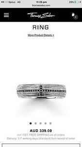 Thomas Sabo Mens Ring and Bracelet Muswellbrook Muswellbrook Area Preview