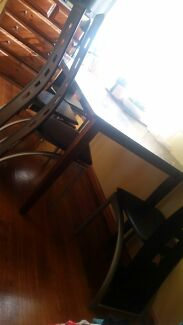 Kitchen soild wooden table x5 chairs  Launceston 7250 Launceston Area Preview