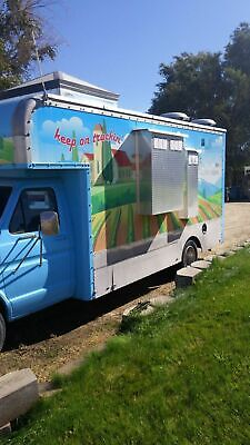 Chevrolet Mobile Kitchen Food Truck In Very Good Working Condition For Sale In I