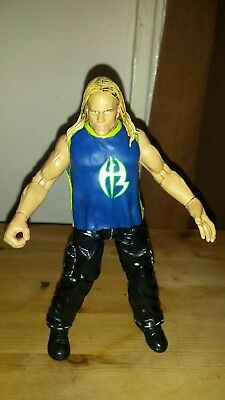 WWE Jakks figure Jeff Hardy 2001 with Hardy symbol - Wwe Symbol