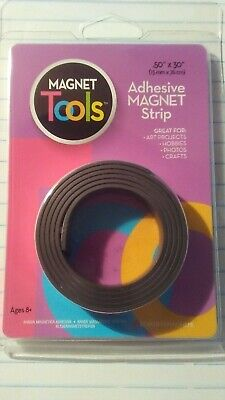 New Dowling Magnets Magnet Tools Adhesive Magnet Strip .50x30