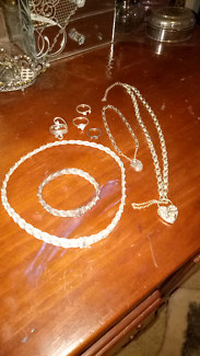 Assorted marked STERLING SILVER jewellery
