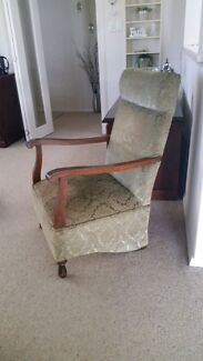 Antique rocking chair. Boronia Knox Area Preview