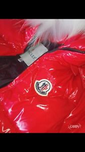 Moncler downfield waterproof snowsuit 5/6yrs