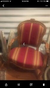 Chaise louis XV en excellente condition