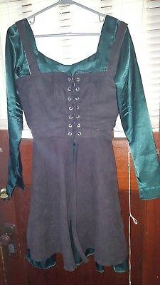 2 Piece Women's Renaissance Period Dress - Medium
