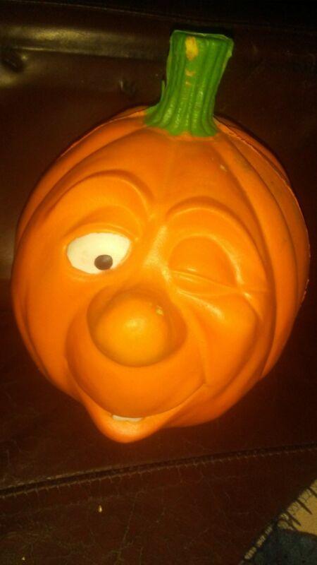 Vintage 1988 Hyman Foam Pumpkin #0103