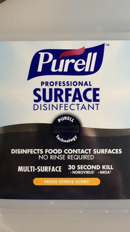 1-GALLON-128oz Purel Professional Disinfectant 30sec Spray MultiSurface Fast S&H