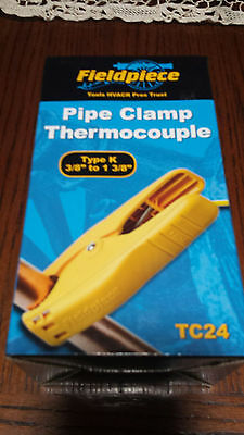 Fieldpiece Tc24 K-type Pipe Clamp Thermocouple 38 To 1 38 Replaces The Atc1