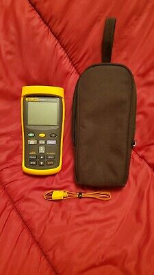Fluke 54-ii-b Thermometer With Temp Probe. Very Clean