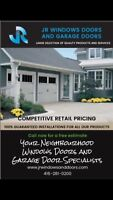 SAVE ON INSULATED GARAGE DOORS!!