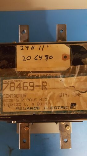 USED - RELIANCE ELECTRIC (WARD LEONARD) CONTACTOR 78469-R (RDP8-20100)