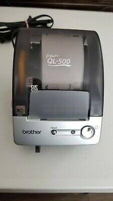 Brother P-touch Ql-500 With Shipping Labels And Other