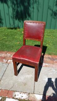Antique dining or desk chair Fremantle Fremantle Area Preview
