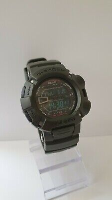 Casio G Shock Mudman G-9000-3VER module 3031 mud resist military green watch