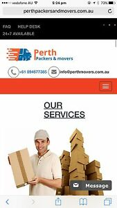 FROM$60 PER HOUR 2 MEN & TRUCK CHEAP MOVERS REMOVALiST IN PERTH Perth Perth City Area Preview