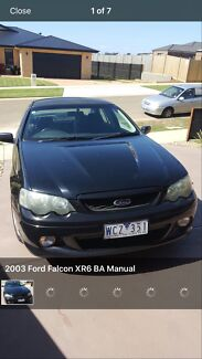 WANT TO SWAP/SELL 2003 Ford Falcon Sedan FOR XR6 UTE