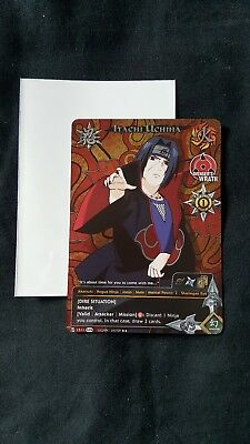 - Naruto TCG Itachi Promo Card BRAND NEW MINT/NEAR MINT CONDITION