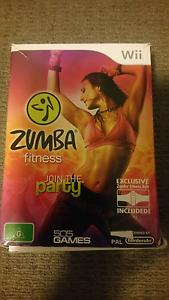 WII GAME zumba Epping Whittlesea Area Preview