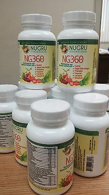 Gluten Free NG360  Multivitamin Supplement with CoQ10 & Appl
