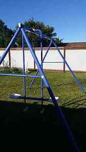 Swing set frame and seesaw playground equipment Little Mountain Caloundra Area Preview