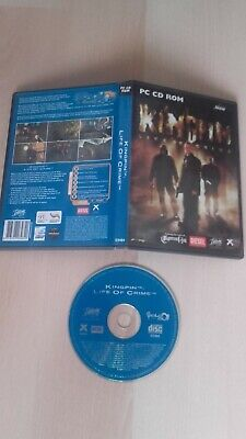 Kingpin Life of Crime (pc cd-rom) for sale  Shipping to Nigeria