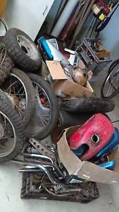 Bike parts shed clean out George Town George Town Area Preview