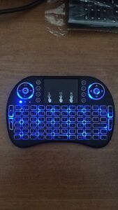 Wireless Rechargeable 3diff Colours Keyboard USB