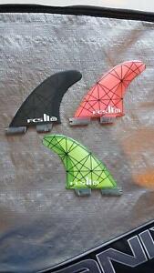 FCS II KOLOHE ANDINO SMALL SURFBOARD FINS Kiama Kiama Area Preview