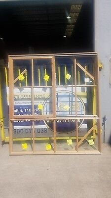 Timber Sliding Window 2107H x 1915W (Item 3973) Meranti