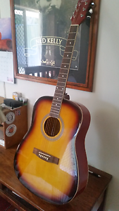 Acoustic guitar CB SKY IN AS NEW CONDITION Stafford Heights Brisbane North West Preview