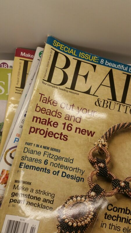 Bead and Button Magazines - Lot Of 15