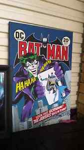 Large Batman/Joker Comic Book Poster Springfield Lakes Ipswich City Preview