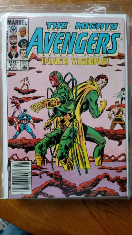 AVENGERS, THE #251 (Marvel,1985) Condition VF/NM