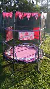 Liltle Girl Trampoline in good used condition Manly West Brisbane South East Preview