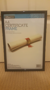 A4 CERTIFICATE FRAME - $1each - 6 available Casula Liverpool Area Preview