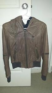 Danier women's brown leather jacket Collaroy Manly Area Preview